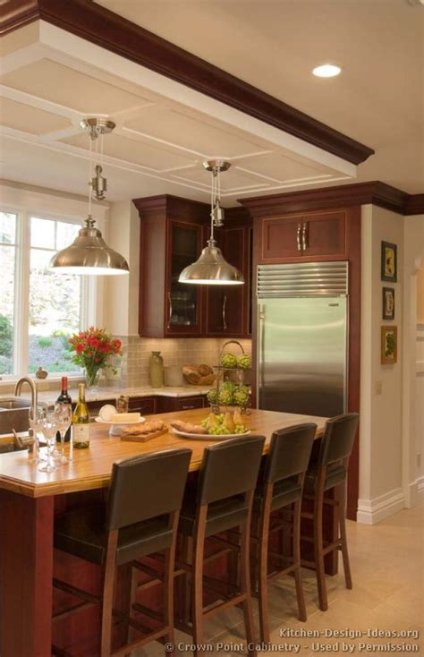 cherry kitchen ideas pictures kitchens traditional dark wood golden brown