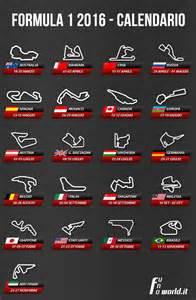 calendario formula 1 2016 formula 1 2016
