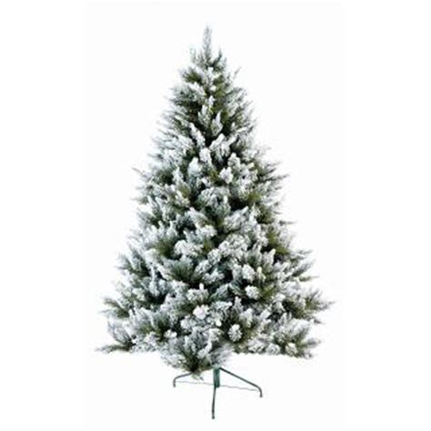 flocked fur tree prop icatching everything for events
