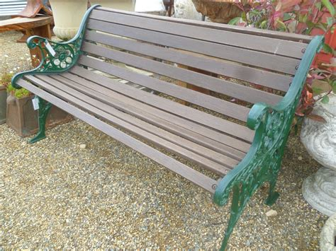 iron garden benches cast iron end and wood garden bench bench pinterest