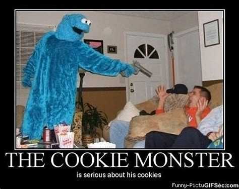 Monster Meme - funny cookie monster meme