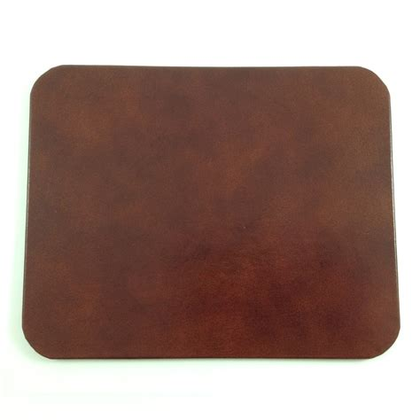 desk pad brown glazed leather desk pad genuine leather with glossy finish prestige office