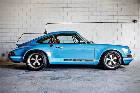 porsche singer blue porsche 911 by singer vehicle design hiconsumption