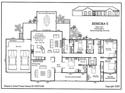 5 Bedroom Floor Plan Designs | simple 5 bedroom house plans 5 bedroom house plans 5