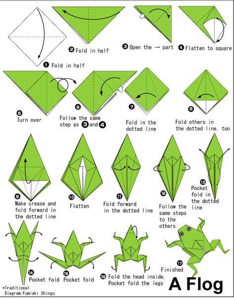 tutorial origami katak quieres hacer origami entra hazlo tu mismo taringa