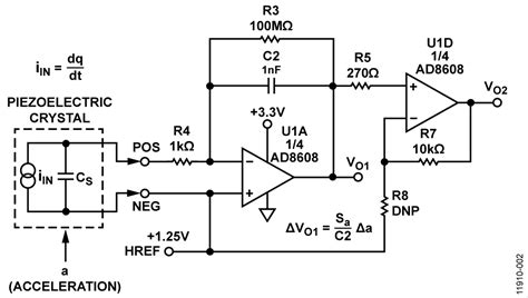 integrated circuit piezoelectric integrated circuit piezoelectric accelerometers 28 images cn0350 circuit note analog devices