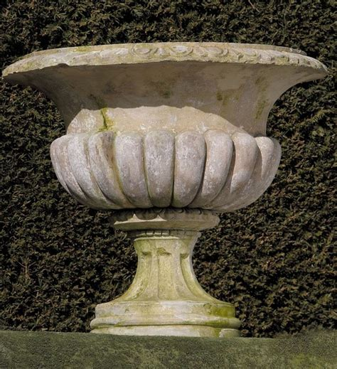 Limestone Planters by Limestone Planters Mediterranean Outdoor Planters
