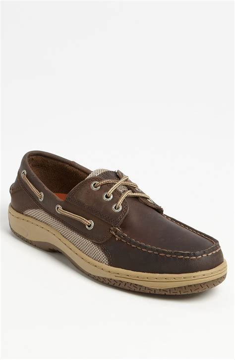 sperry top sider shoes sperry top sider billfish boat shoe in brown for
