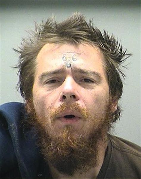 men with 666 on forehead ohio man arrested for urinating in public makes headlines