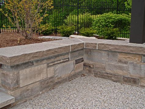 stone bed wiarton natural bed building stone coursing ledgerock