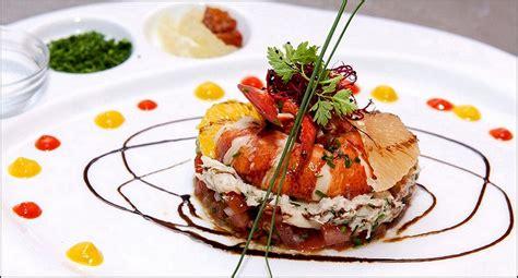 stage en cuisine gastronomique visions gourmandes 187 tartare de poisson fish tartar tartar