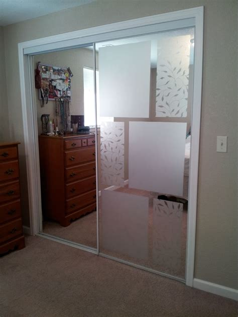 How To Cover Mirrored Closet Doors Closet Door Decals Pilotproject Org