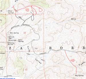 Anza Borrego State Park Map by Topographic Map Of Tubb Canyon And Culp Valley Anza