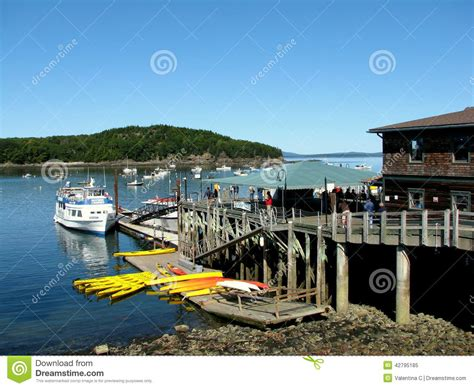 atlantic design center york maine boat for sightseeing in bar harbor maine usa editorial