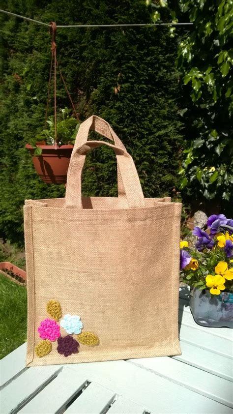 hessian tote bag pattern jute tote hessian bag crochet jute bag by handmadebyccxx