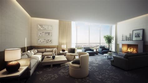 hotel with living room spacious modern living room interiors