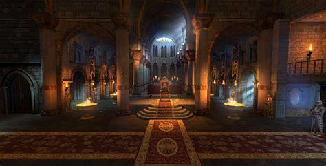 Castle Throne Room by Artstation Immortals Throne Room William Kowach