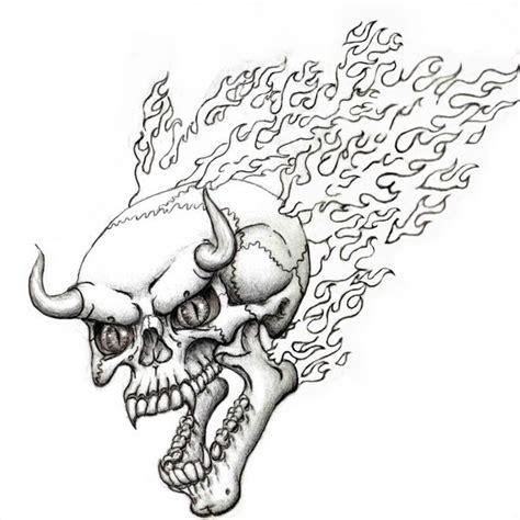 flaming devil skull flash by steevdragon on deviantart