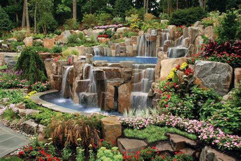 luxury backyard landscaping luxury swimming pool spa design ideas outdoor indoor nj