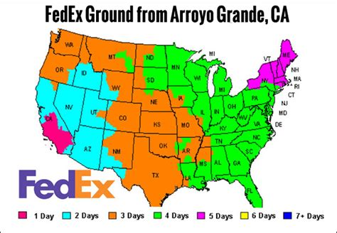 fedex time in transit map quot time in transit quot ground shipping maps rugged radios
