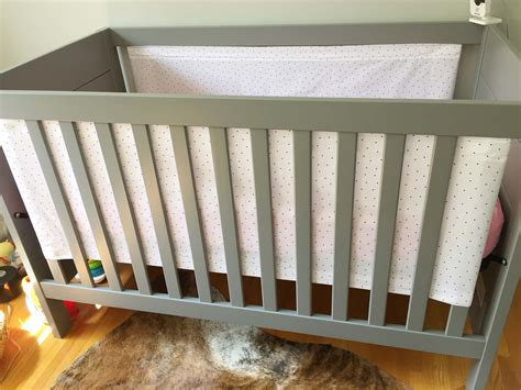 Diy Cribs by Diy Crib Liner For Solid End Cribs Warfieldfamily