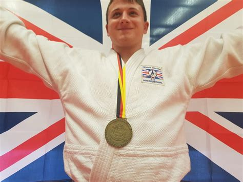 Sancu Mikey Nomer 32 38 five golds for gb judo at id world chionships judo
