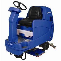 clarke boost  rider floor scrubbing machine