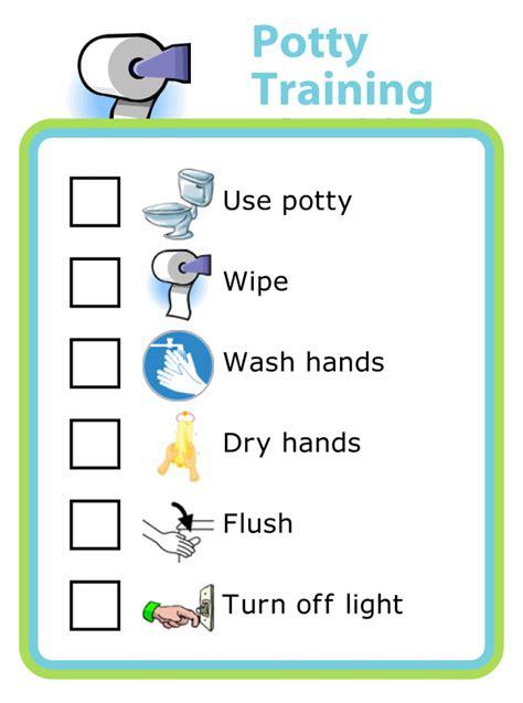 potty training checklist  pictures  kids  trip