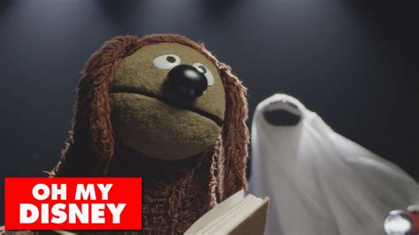 rowlf the rowlf the of the muppets performs a dramatic reading of grim grinning ghosts