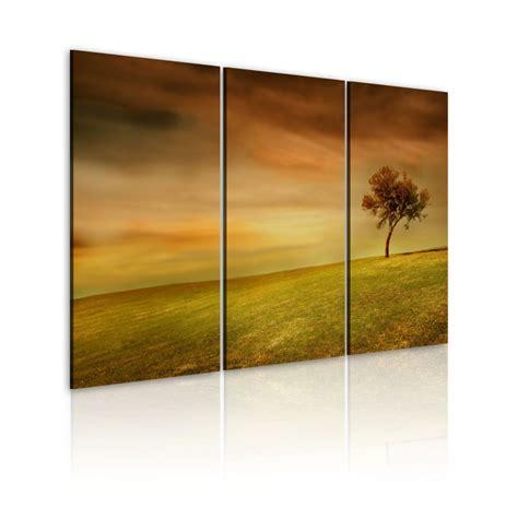cuadros prado cuadro un 225 rbol solitario en un prado 120x80 60x40