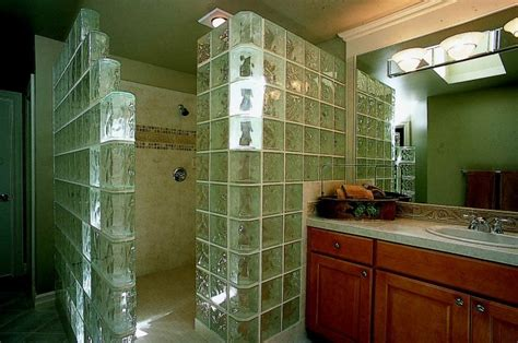 Glass Cube Shower by 1000 Images About Glass Block Showers On
