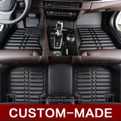 custom fit car floor mats for audi a1 a3 a6 a7 a8 q3 q5 q7