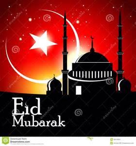 islamic greeting card for eid mubarak stock images image 30216824