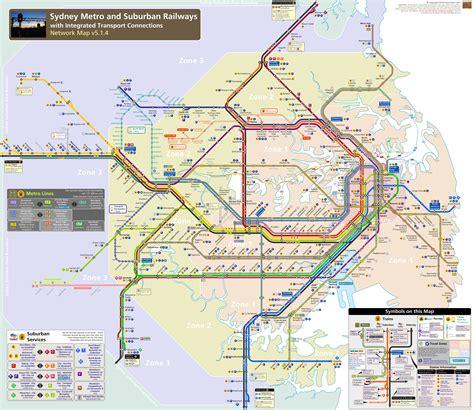 sydney map sydney metro map johomaps