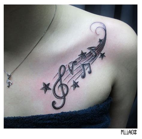 tattoos of music notes tattoo collections