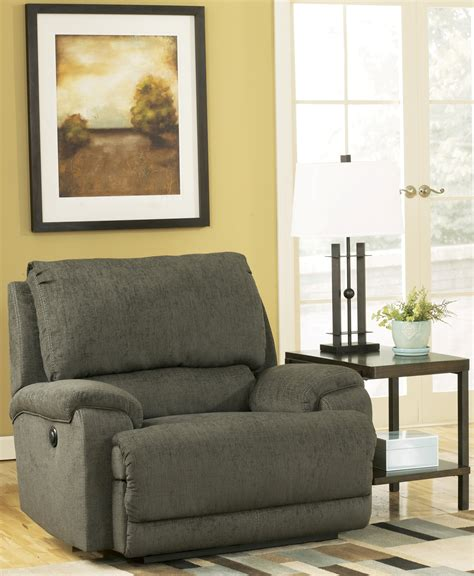 Zero Wall Power Wide Recliner by Herztio Steel Zero Wall Power Wide Recliner 8970282