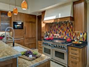 Colorful Kitchen Backsplash by 2014 Colorful Kitchen Backsplashes Ideas