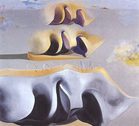 3 Paintings By Salvador Dali by The Three Glorious Enigmas Of Gala Second Version 1982