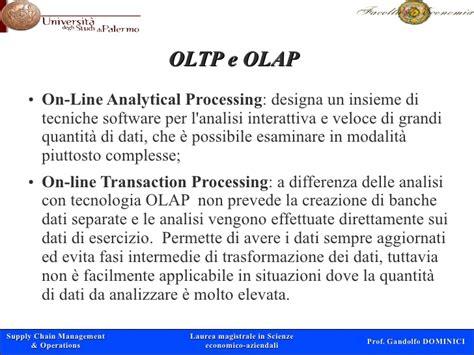 banche dati cdl gestione della capacit 224 e forecasting gandolfo dominici