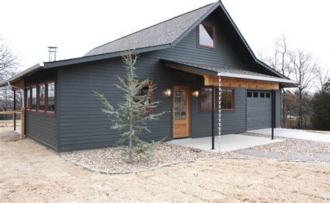 metal building homes exterior farmhouse with cottage
