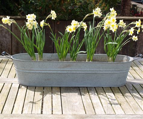 What Is Planters oval zinc planter by idyll home notonthehighstreet