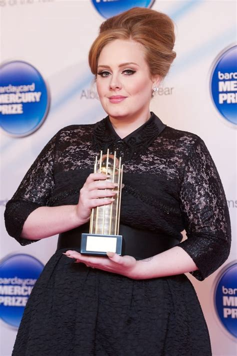 small biography of adele adele with a trophy the hollywood gossip
