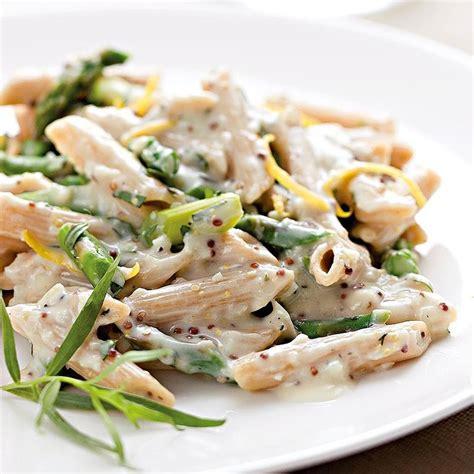 pasta recipe creamy asparagus pasta recipe eatingwell