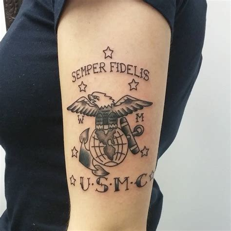marine tattoo policy 75 cool usmc tattoos meaning policy and designs 2018