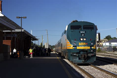 Via Rail Kitchener by Railpictures Ca Kenny Huynh Photo Via 84 Arriving