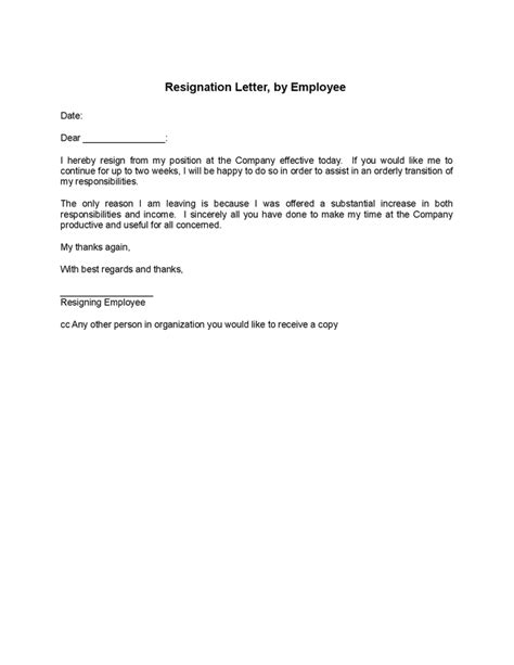 Leave Acceptance Letter From Employer Resignation Letter Letter To Resigned Employee From A Letter To Resigned Employee Create