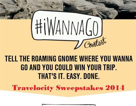 Sweepstakes Contests 2014 - travelocity iwannago contest sweeps maniac