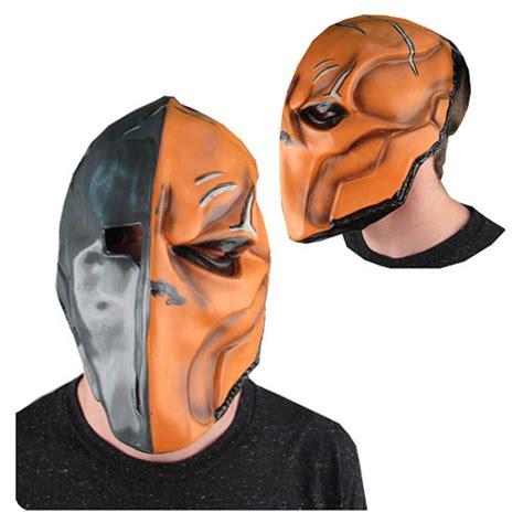 Masker Origins deathstroke without mask arkham origins www imgkid the image kid has it