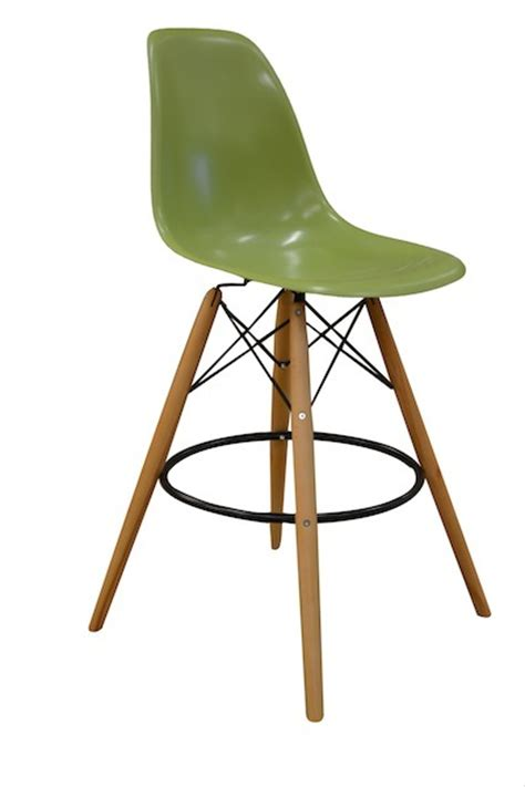 charles eames bar stool charles eames contemporary olive green bar stool 163 99 99
