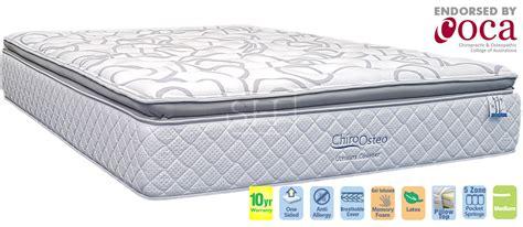 chiro osteo ultimate comfort medium queen mattress sydney